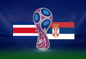 コスタリカ対セルビア2