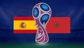 スペイン対モロッコ