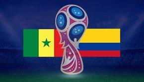 セネガル対コロンビア