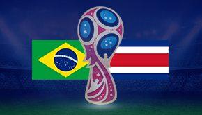 ブラジル対コスタリカ