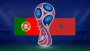 ポルトガル対モロッコ
