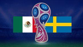 メキシコ対スウェーデン