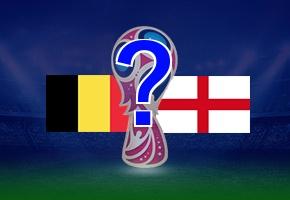 決勝戦でベルギーとイングランドの再戦も