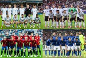 U-21欧州選手権遂にベスト4が出揃う!準決勝の対戦カードは?