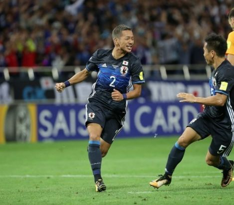 日本代表がワールドカップ出場権獲得!世界各国も速報「世界4番目のスピード」