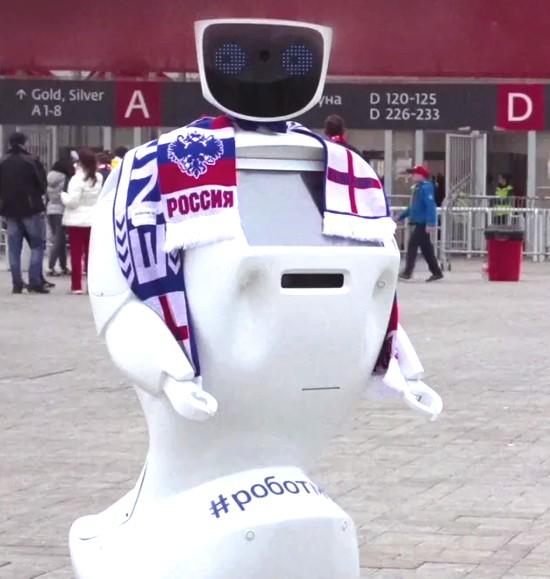 ワールドカップAlan Timはロボット