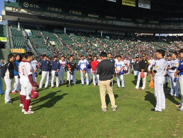 プロ野球12球団合同トライアウト開催