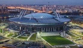 サンクトペテルブルグ・クレストフスキー・スタジアム・ガスプロム・アリーナ