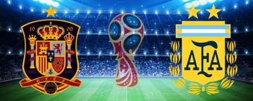 スペイン対アルゼンチン