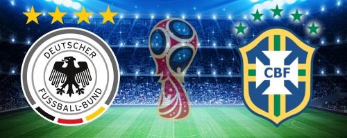 ドイツ対ブラジル