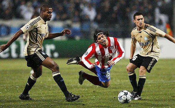 アトレティコ対マルセイユ・2008