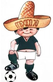 歴代マスコット・1970年のメキシコ