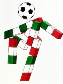 歴代マスコット・1990年のイタリア