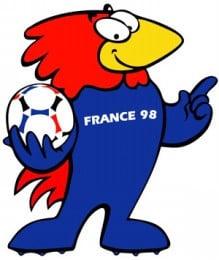 歴代マスコット・1998年のフランス