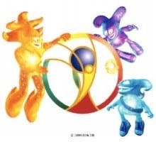 歴代マスコット・2002年の日本・韓国共同開催大会