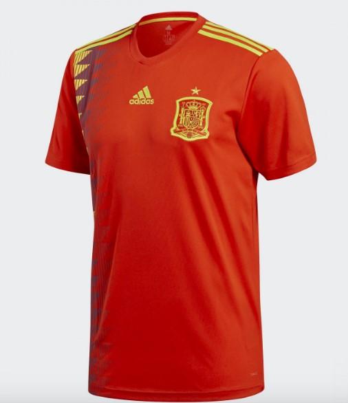 スペインユニフォーム