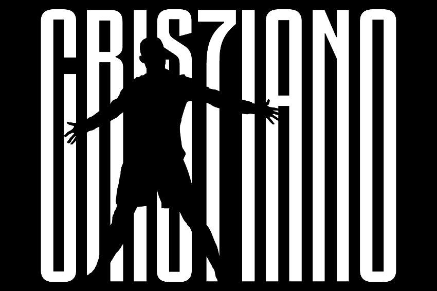 「CRISTIANO」の「T」の文字が数字の「7」
