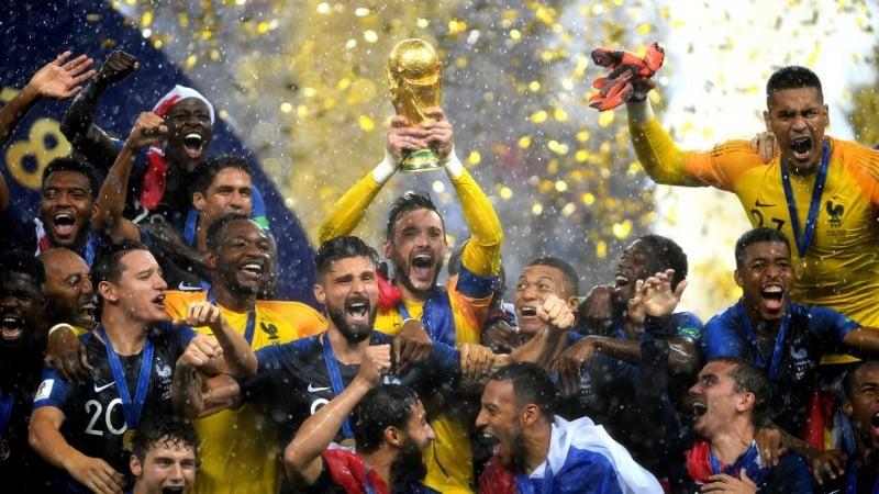フランスが20年ぶり2度目の優勝 W杯