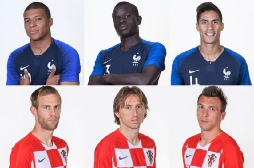 フランス対クロアチア