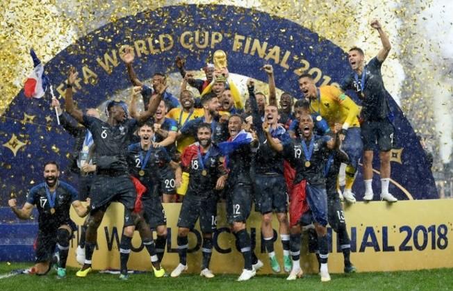 フランス2度目のワールドカップ優勝!
