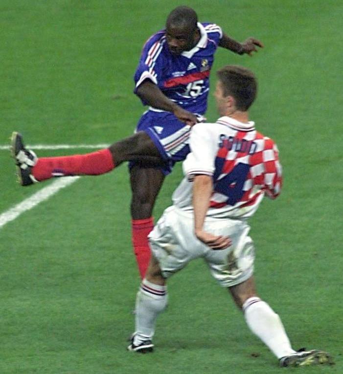 1998年-フランス対クロアチア
